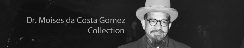 Dr. Moises da Costa Gomez Collection
