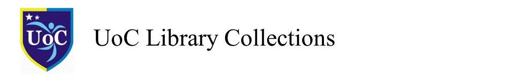 UOC Library Collections
